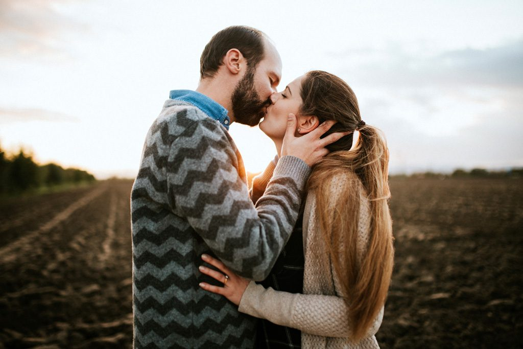 Valentinstag Fotoshooting fuer Paare